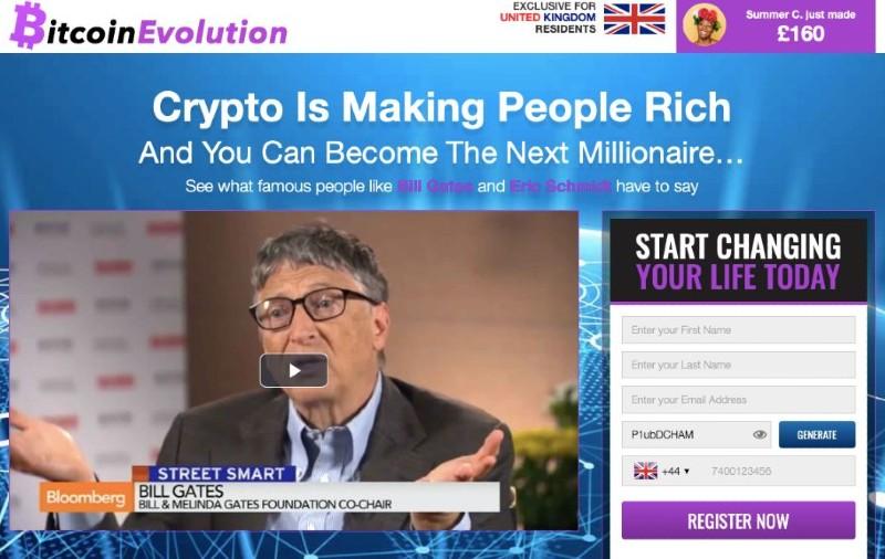 Bitcoin Evolution England