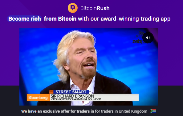 Bitcoin Rush uk