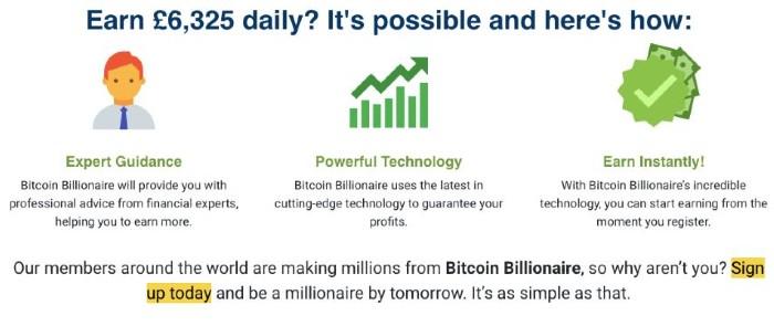 Bitcoin Billonaire app England